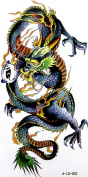 GGSELL YiMei Cool sexy waterproof colourful temporary tattoo stickers animal dragon
