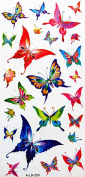 GGSELL YiMei Waterproof colour tattoo stickers insects butterflies