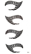 GGSELL latest King Horse new design waterproof temporary Streak EYE Tattoo Sticker