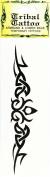 Temporary Tattoo - Armband & Lower Back Tribal Tattoo