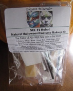 Face Paint Sci Fi Robot All Natural Non Toxic