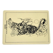 Beginner Tattoo Practise Skin Synthetic Skin-like Tiger Pattern for Needle Supply
