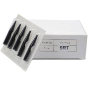 50Pcs Disposable Sterilised Tattoo Nozzle Tip Round Tip - 9RT