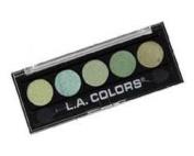 L. A. Colours 5 Colour Metallic Eyeshadow