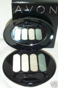 Avon True Colour Eyeshadow Quad Fresh Cut Greens