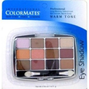 COLORMATES 12PAN EYESHADWOW WARM
