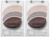 Almay Intense i-Colour Smoky-i Powder Shadow Kit, Smoky-i for Greens