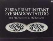 Zebra Print Instant Eye Shadow Tattoo