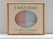 I Natural Eye Twins Pure Polishers - Powder Puff