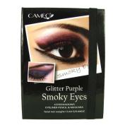 Cameo Cosmetics Glitter Purple Smokey Eyes Makeup Kit Eyeliner Mascara Included