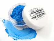 L.A. Minerals Bright Shimmer Mineral Eye Shadow - Blue Shock