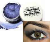 L.A. Minerals Deep Blue Iridescent Shimmer Mineral Eye Shadow - Mystic Blue