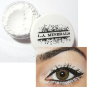 L.A. Minerals Shimmer Mineral Eye Shadow - Snow White