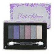Pop Beauty Lid Silver Palette