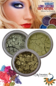 ITAY Beauty Mineral Shimmer Eye Shadow Kit Mystic Green