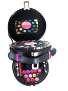 Lady De Carry All Double Layer Satin Colour Professional Eye Shadow Makeup Kit Gift Set by Cameo