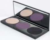 Rock & Republic Noir Eye Colour Trio Scene 2 Palette, Black Nude Purple Shades