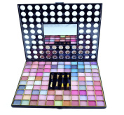 Lady De 98 Colour, Bright Travel Size Pro EyeShadow Palette Make Up Kit