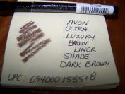 AVON ULTRA LUXURY BROW LINER IN SHADE DARK BROWN