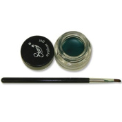 Starry Long Lasting Waterproof Eyeliner Gel with Brush Tantalising Teal Blue Teal Green 2011 New Colour