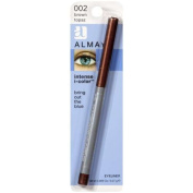 Almay intense i-color Eyeliner, Bring Out the Blue, Brown Topaz 002, 0.009 Ounce Package