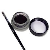 2nd Love Long Lasting Waterproof Smudge Proof Eyeliner Gel Chocolate Brown With Brush