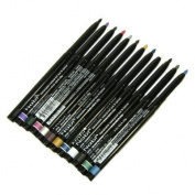 Nabi Cosmetics Retractable Waterproof Eye Liner Pencil 12 Different Colours