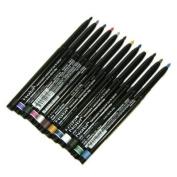 Nabi Cosmetics Retractable Waterproof Eye Liner Pencil 12 Different Colours