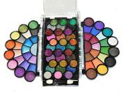 Dazzling 77 Colour Neon Glitter Eyeshadow Makeup Kit