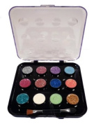 Beauty Treats Glitter Eyeshadow - 12 Colours