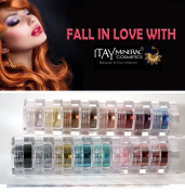 "ITAY All-Natural Mineral 8-Stack Eye Shimmer ""Terra Linda"" & ""Paris Lights"""