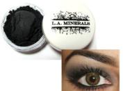L.A. Minerals Matte Black Mineral Eye Shadow - Smokin Hot
