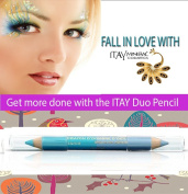 "ITAY Mineral Cosmetics Eye Liner Duo Pencil ""Blue Horizon"" - DP05"