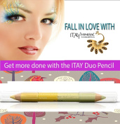 """ITAY Mineral Cosmetics Eye Liner Duo Pencil """"Citrus Squeeze"""" - DP08"""