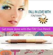 "ITAY Mineral Cosmetics Eye Liner Duo Pencil ""Precious Bronze"" - DP03"