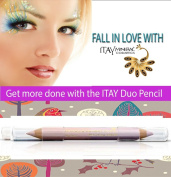 "ITAY Mineral Cosmetics Eye Liner Duo Pencil ""Sweet Pinks"" - DP04"