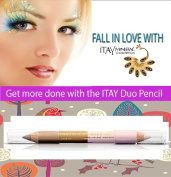 "ITAY Mineral Cosmetics Eye Liner Duo Pencil ""Tanned Rose"" - DP07"