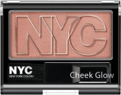 New York Colour Cheek Glow Powder Blush, #654 Outside Cafe - 1 Ea, Pack of 2