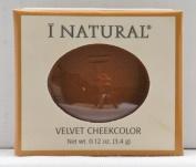 I Natural Velvet Cheek Colour - Mahogany