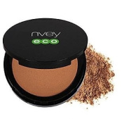Nvey Eco Cosmetics Compact Powder, Natural Bronzer