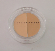 Sheer Cover SHEERCOVER duo concealer LIGHT/MEDIUM 3g
