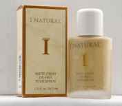 I Natural Matte Finish Oil-Free Foundation - Sun Gold