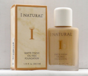 I Natural Matte Finish Oil-Free Foundation - Tawny