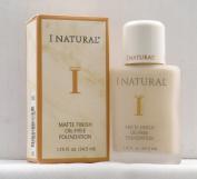 I Natural Matte Finish Oil-Free Foundation - Vanilla