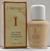 I Natural Silk Finish Enhancing Foundation w/ SPF 8 - Bare Beige