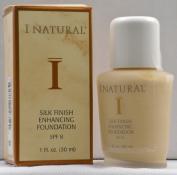 I Natural Silk Finish Enhancing Foundation w/ SPF 8 - Ivory