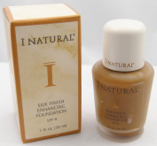 I Natural Silk Finish Enhancing Foundation w/ SPF 8 - Mahogany