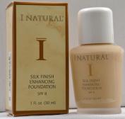 I Natural Silk Finish Enhancing Foundation w/ SPF 8 - Natural