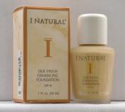 I Natural Silk Finish Enhancing Foundation w/ SPF 8 - Sun Beige