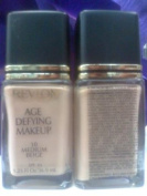 Revlon Age Defying Spf 10 Makeup Foundation 10 Medium Beige 1.25oz/36.9ml